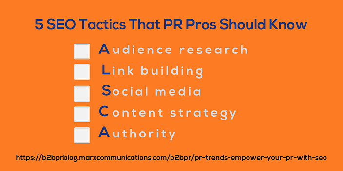 50 SEO Tactics That PR Pros Should Know