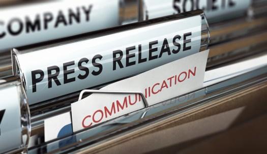 service de rédaction de communiqués de presse