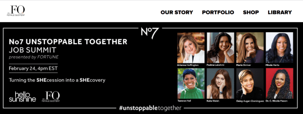 No.7s Innovated summit uses a memorable hashtag