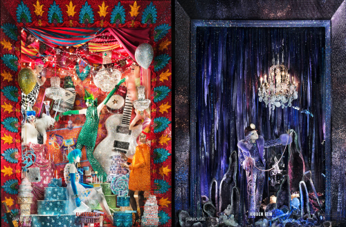Bergdorf Goodman Christmas window 2015 | Photo: Ricky Zehavi for Bergdorf Goodman