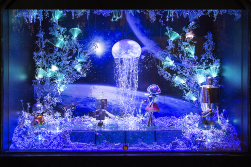 Galleries Lafayette Christmas windows 2015 | Source: Galeries Lafayette