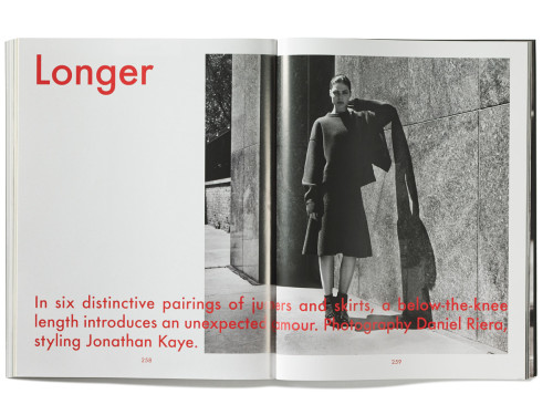 A fashion story from the eighth issue of The Gentlewoman | Source: The Gentlewoman