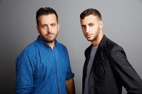 Piergiorgio Del Moro and Sam Scheinman | Photo: Dominic Neitz for BoF