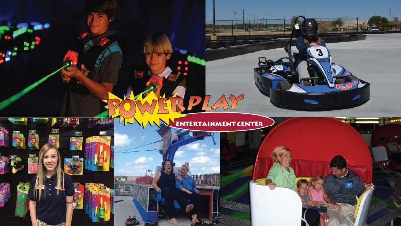 PowerPlay Metro North Entertainment Center. 509 NW Barry Rd. Kansas City. MO 64155. USA
