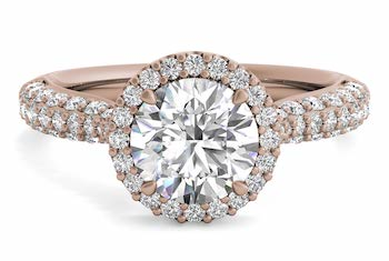 french set diamond band