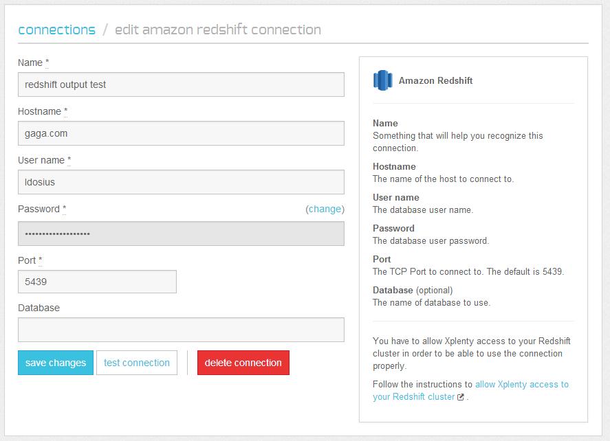 Offload Redshift ETL to Xplenty · Xplenty