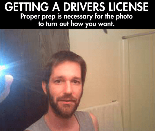 Man Transforms His Look For Driver's License Photo With ...
