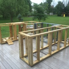 How To Make An Outdoor Kitchen Go Cabinets Diy Backyard That Will Blow Your Mind What This Guy With No Experience Built On His Patio Made Me So Jealous