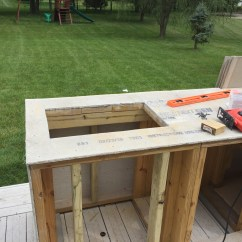 Backyard Kitchens Kitchen Compost Container Diy That Will Blow Your Mind What This Guy With No Experience Built On His Patio Made Me So Jealous