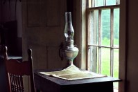 Oil Lamp at Olsen House | Alan McConnell Photography