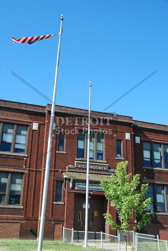 AL Holmes Elementary School is located in a neighborhood