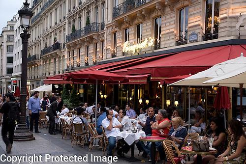 Fouquet Restaurant, Champs Elysees, Paris, France
