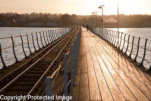 Hythe Pier and Railway, Southampton, England