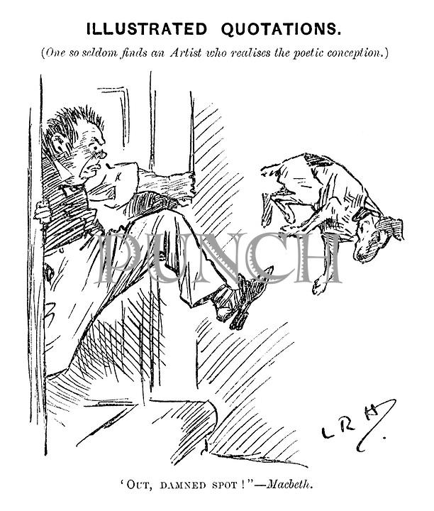 Edwardian Era Cartoons from Punch magazine by Leonard