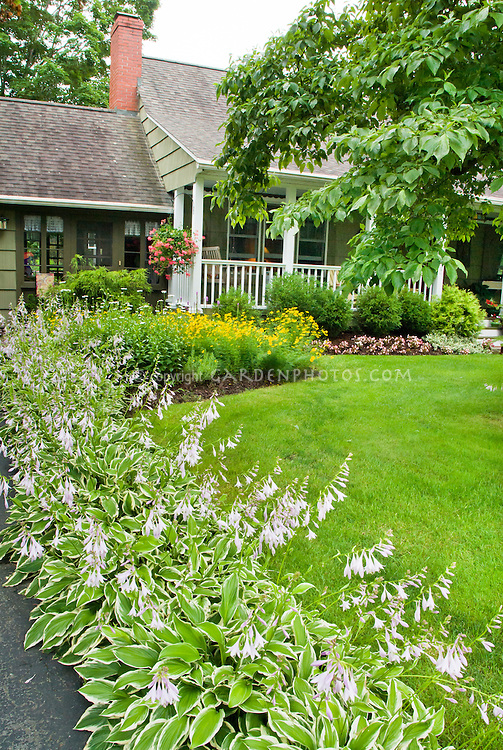 curb appeal front house gardening