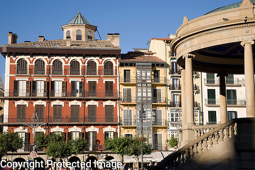 Plaza de Castillo Square, Pamplona