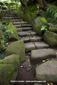 Ancient Stairway at Hokokuji Temple, Kamakura Images ...