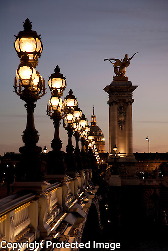Pont Alexandre III Bridge, Paris