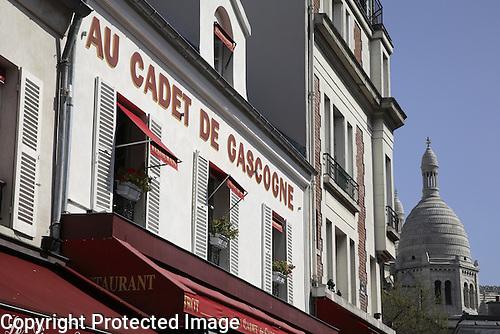 Au Cadet de Gascogne Restaurant, Montmartre, Paris