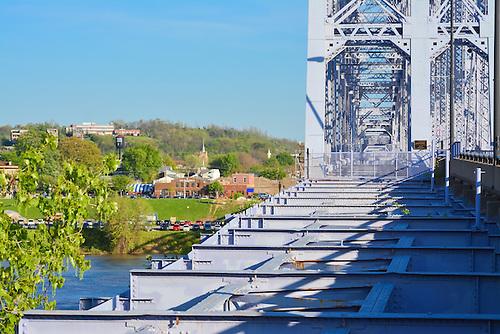 The Purple People Bridge.