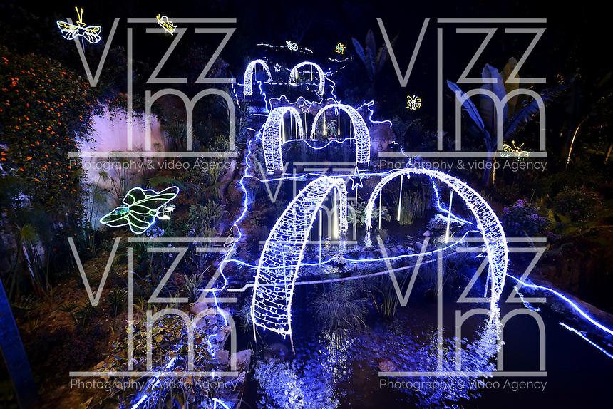 Monserrate Iluminacin Navidea Bogot Colombia