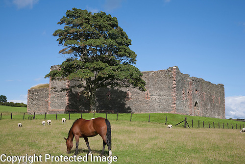Skipness Castle, Kintyre, Scotland