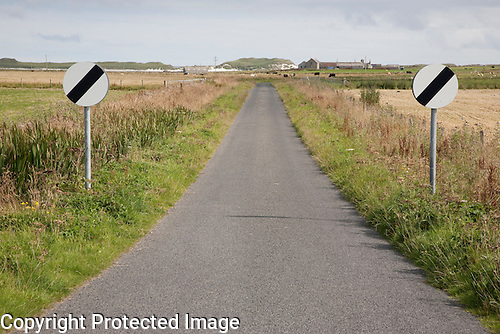 Empty Road, Sanday, Orkney Islands, Scotland