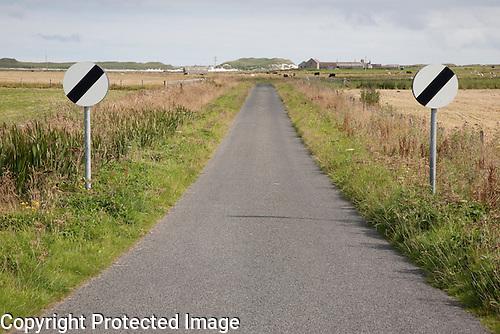 Empty Road, Sanday, Orkney Islands, Scotland