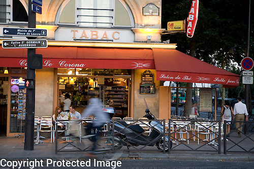 Tabac and Cafe, Paris, France