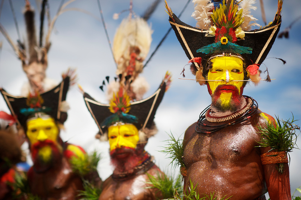 Image result for Huli – Papua New Guinea