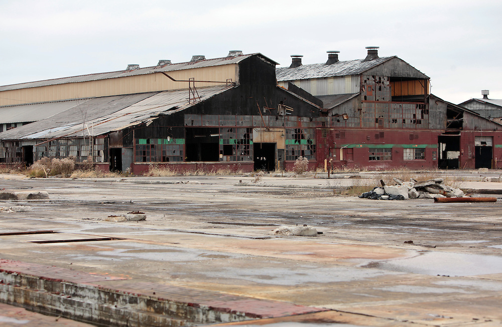 Image result for images of abandoned factory in Muncie
