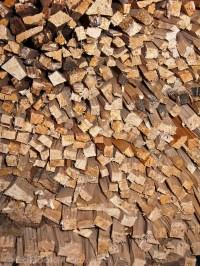 stack of wood kindling dries | EdBookPhoto