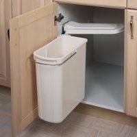 Rev-A-Shelf Single Pivot Out Trash 20 Litre-White 8-700411 ...