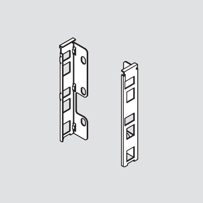 Blum Legrabox K Rear Fixing Bracket Set Left/Right Orion