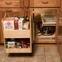 Omega National Products Kitchenmate Blind Corner Caddy ...