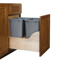 Rev-A-Shelf Soft-Close Double Trash Pullout 35 Quart 4WCSC ...