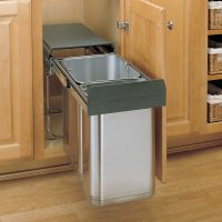 Rev-A-Shelf Premium Double Pull-Out Trash Bin System 30 ...