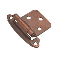 Hickory Hardware Variable Overlay Hinge Pair Antique ...