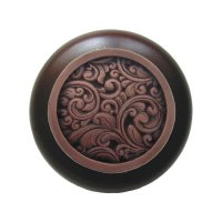 Notting Hill Classic 1-1/2 Inch Diameter Antique Copper ...
