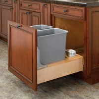 Rev-A-Shelf Double Trash Pullout 30 Quart-Wood 4WCBM ...