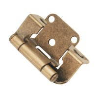 """Hickory Hardware Partial Wrap 1/2"""" Overlay Hinge Pair ..."""