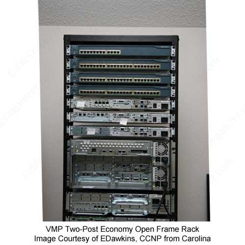 open frame rack 27u cableorganizer