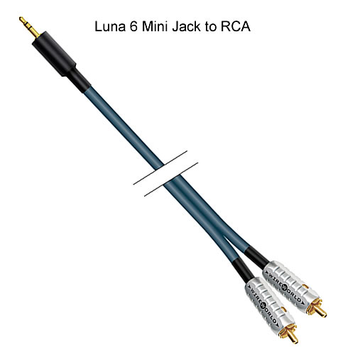 WireWorld Luna 6 Audio Interconnect Cables