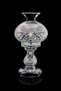 """Waterford Crystal 14"""" Inishmaan Lamp"""
