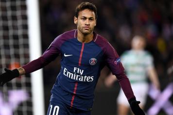 Neymar PSG esultanza