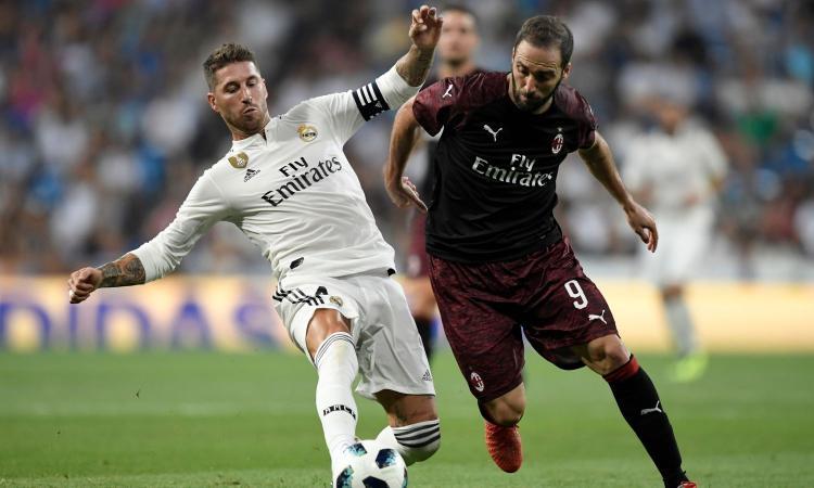 Un Buon Milan Cade Al Bernabeu 31 Real Madrid Debutto E