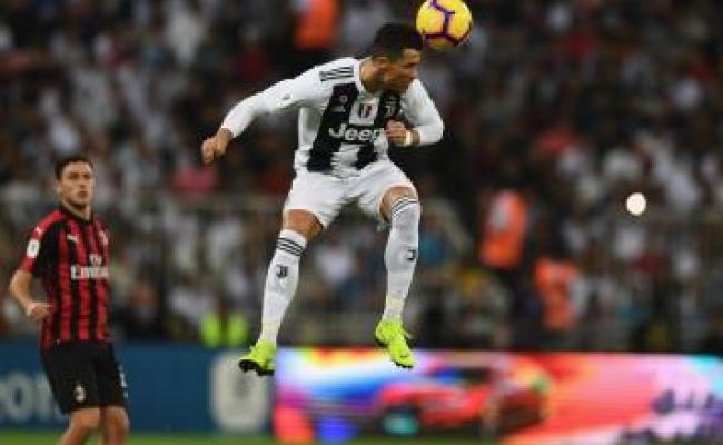 Watch Cristiano Ronaldo Gives Juve Lead Vs Milan In