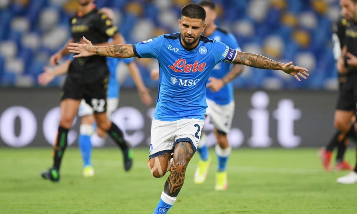 Napoli-Venezia 2-0: Insigne, che sbaglia anche un rigore, ed Elmas regalano  i primi 3 punti a Spalletti | Primapagina | Calciomercato.com
