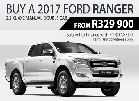 2017 Ford Ranger 2.2 XL Manual Double Cab Price - R329 000