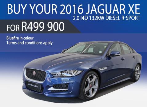 2016 Jaguar XE 2.0 i4D Diesel R-Sport